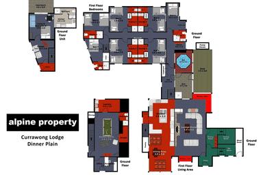 CURRAWONG LODGE, 44 Big Muster Drive Dinner Plain VIC 3898 - Floor Plan 1