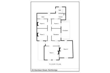 62 Aberdeen Street Northbridge WA 6003 - Floor Plan 1