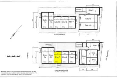 The Bay Arcade, Shop 7/478 The Esplanade Warners Bay NSW 2282 - Floor Plan 1