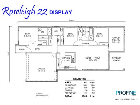Roseleigh 22 - floorplan
