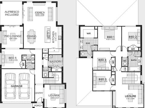 Kingston 33 (Coastal facade) - floorplan