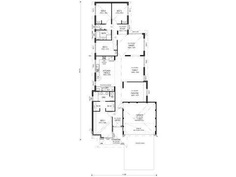 The Swagger - floorplan