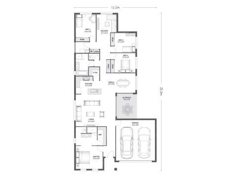 Allendale 24 - floorplan