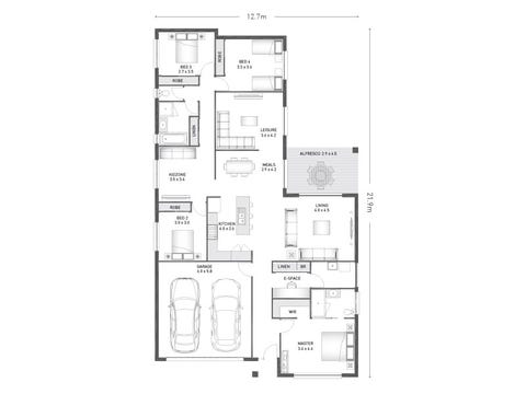 Denham 25 - floorplan