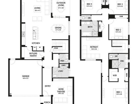 Airlie 33 - floorplan