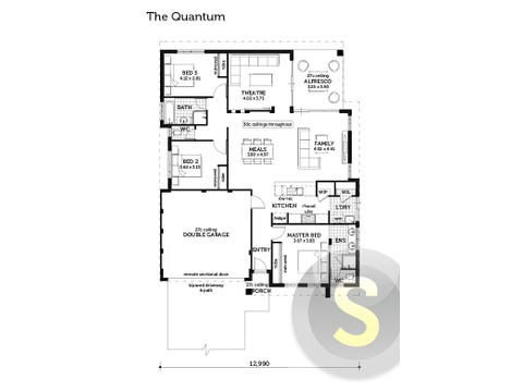 The Quantum - floorplan