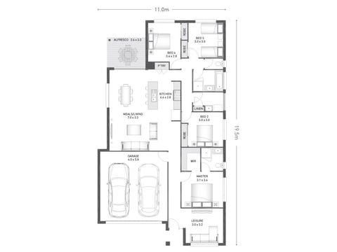 Telford 20 - floorplan