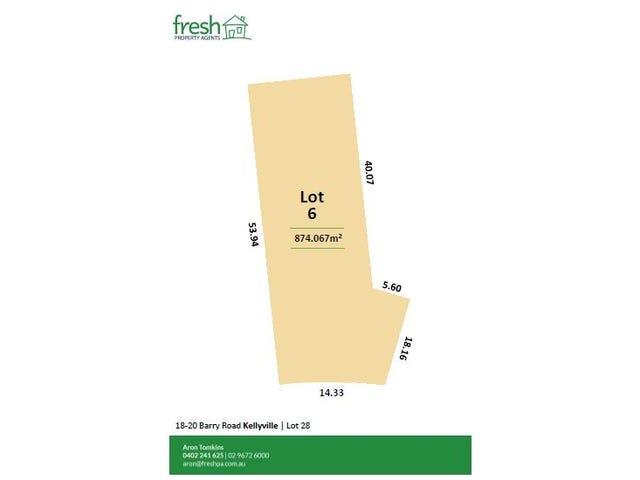 Lot 6, 18-20 Barry Road, Kellyville, NSW 2155