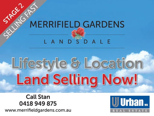 Landsdale, address available on request