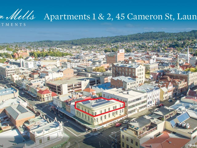 Apartments 1 & 2/45 Cameron Street, Launceston, Tas 7250