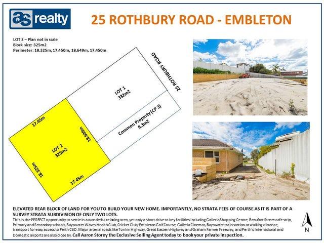 Lot 2, 25 Rothbury Road, Embleton, WA 6062