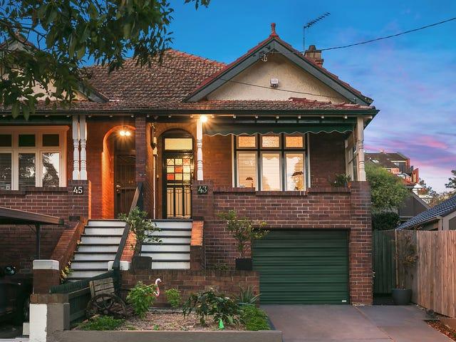 43 Sinclair Street, Wollstonecraft, NSW 2065