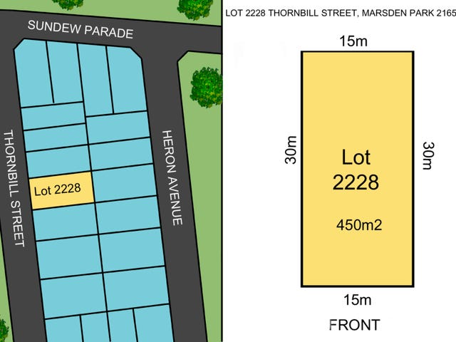 Lot 2228 Thornbill Street, Marsden Park, NSW 2765