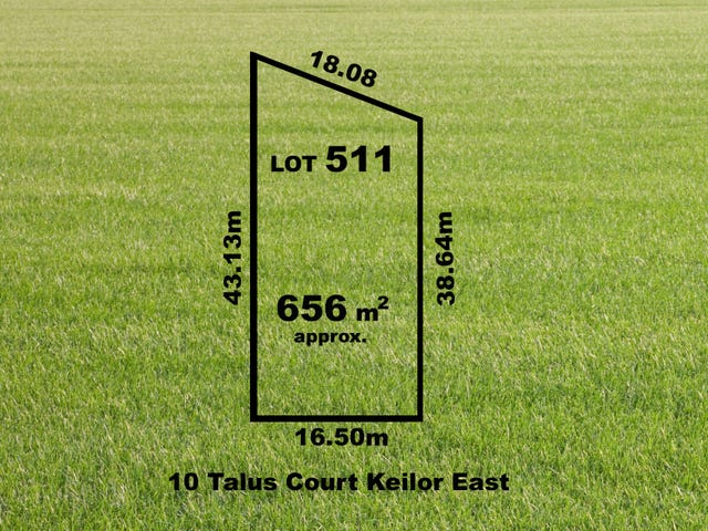 10 (Lot 511) Talus Court, Keilor East, Vic 3033
