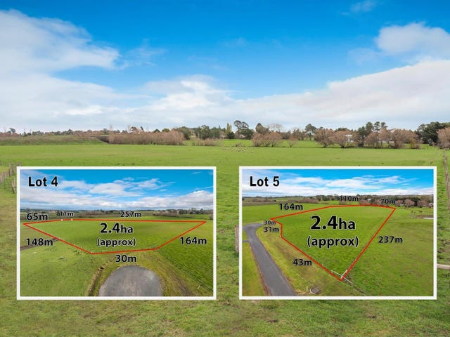 Lot 4 & Lot 5 Browns Court, Kyneton, Vic 3444