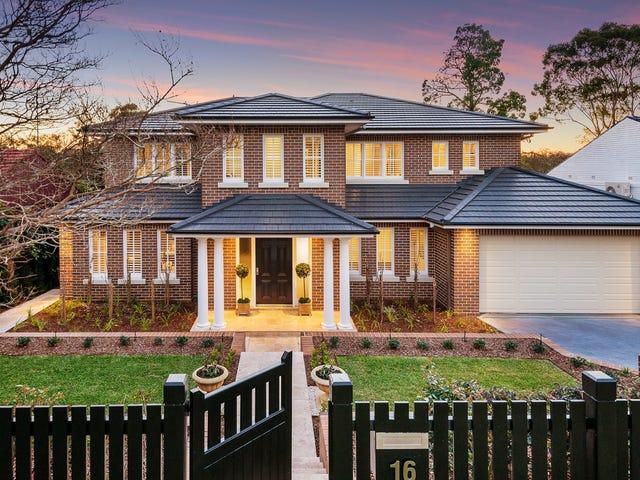 16 Fairlawn Avenue, Turramurra, NSW 2074