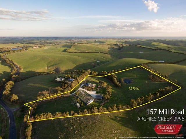 157 MILL ROAD, Archies Creek, Vic 3995
