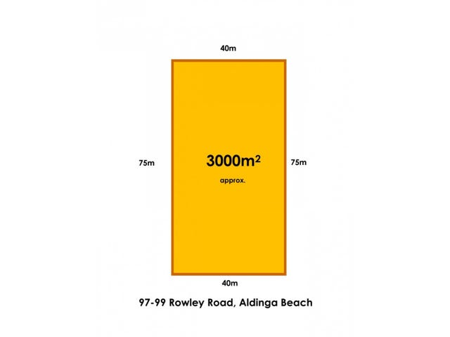 97-99 Rowley Road, Aldinga Beach, SA 5173