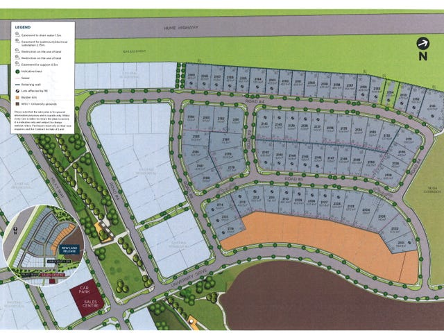 2115 proposed  Road, Campbelltown, NSW 2560