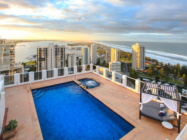 Penthouse 93/1-9 Hughes Street, Main Beach, Qld 4217