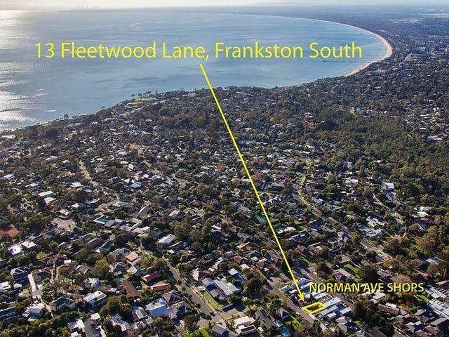 13 Fleetwood Lane, Frankston South, Vic 3199