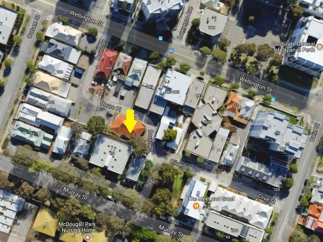 18 CLIVE STREET, West Perth, WA 6005
