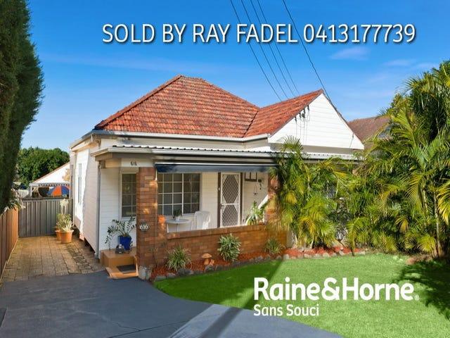 616 Rocky Point Road, Sans Souci, NSW 2219