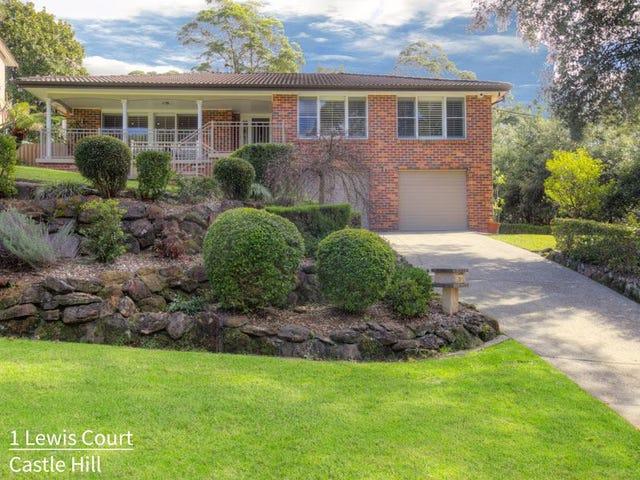 1 Lewis Court, Castle Hill, NSW 2154
