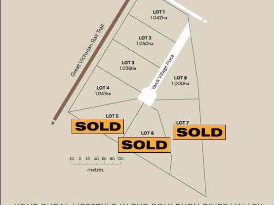 Lot1- Lot8 Yarck Village Place, Yarck, Vic 3719