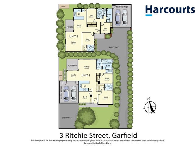 1 & 2/3 Ritchie Street, Garfield, Vic 3814