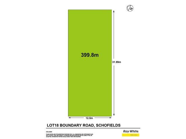 Lot 18, 4 Boundary Road, Schofields, NSW 2762