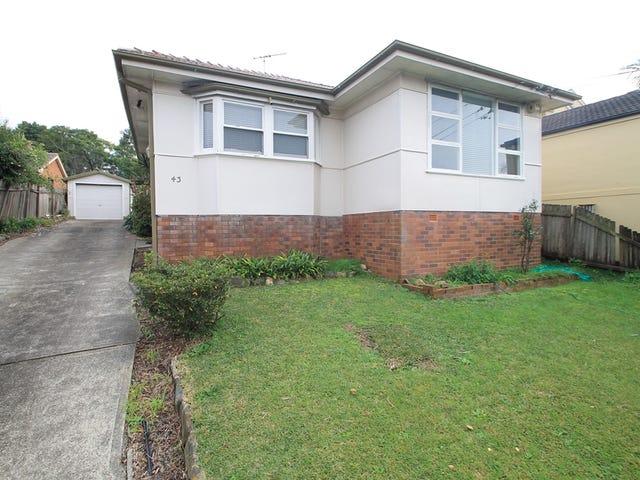 43 Frederick Street, Ryde, NSW 2112