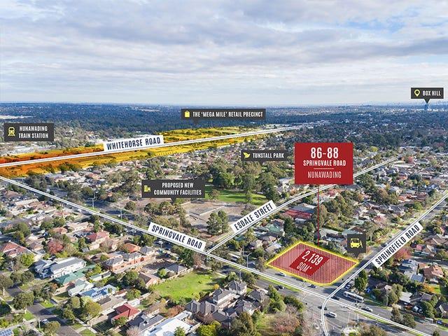 86-88 Springvale Road (Corner Springfield Road), Nunawading, Vic 3131