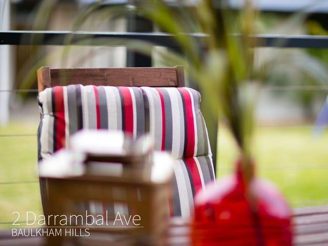 2 Darrambal Ave, Baulkham Hills, NSW 2153