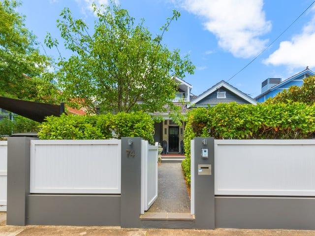 74 Newcastle Street, Rose Bay, NSW 2029