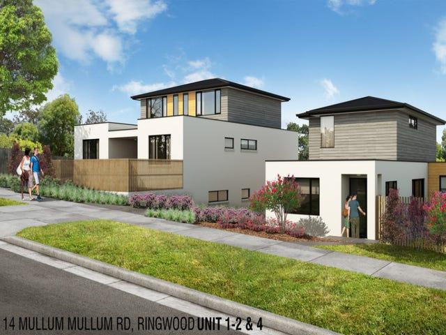 1-12/14 Mullum Mullum Road, Ringwood, Vic 3134