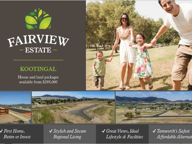 Fairview Estate House & Land, Kootingal, NSW 2352
