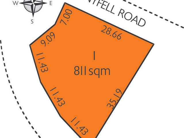 Lot 1, 63 Stonyfell Road, Stonyfell, SA 5066