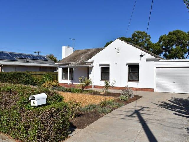 5 Wallira Street, South Plympton, SA 5038