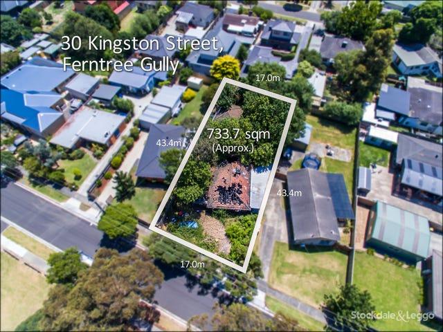 30 Kingston Street, Ferntree Gully, Vic 3156