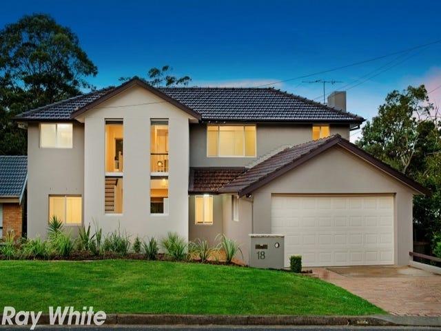 18 Candowie Crescent, Baulkham Hills, NSW 2153