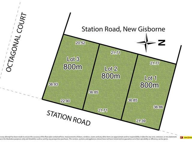 Lots1,2,3/ 191 Station Road, New Gisborne, Vic 3438