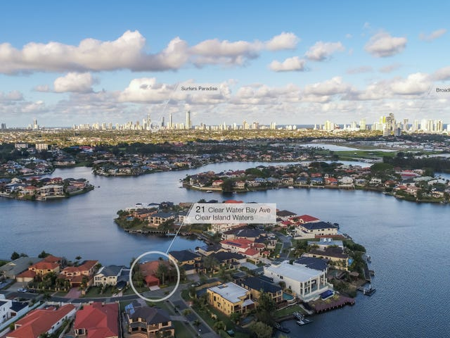 21 Clear Water Bay Avenue, Clear Island Waters, Qld 4226