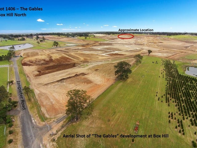 Lot 1406, The Gables, Box Hill, NSW 2765