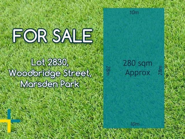 Lot 2830, Woodbridge Street, Marsden Park, NSW 2765