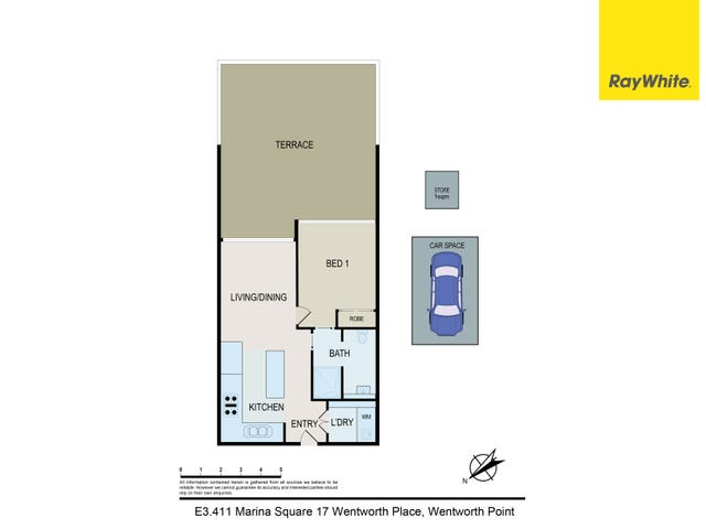 E3.411/17 Wentworth Place, Wentworth Point, NSW 2127