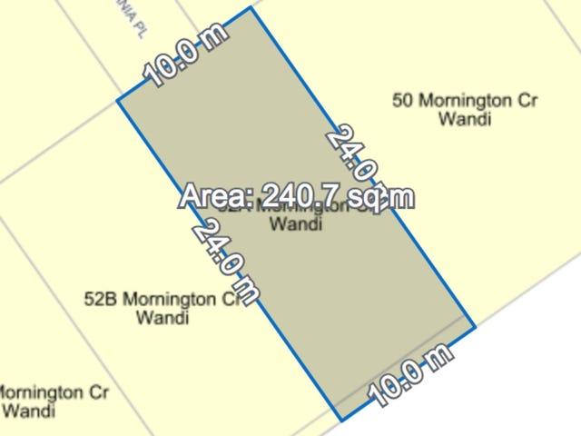 Lot a, 52 mornington Crescent, Wandi, WA 6167