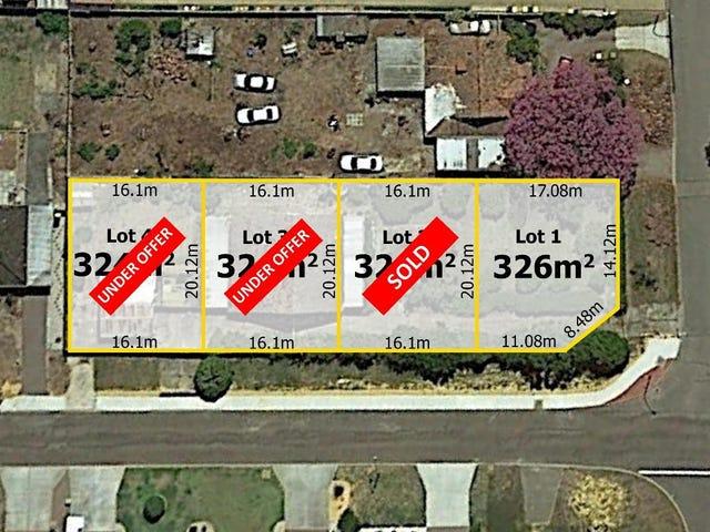 Lots 1,2,3,4@ 20 Croft Street, Gosnells, WA 6110