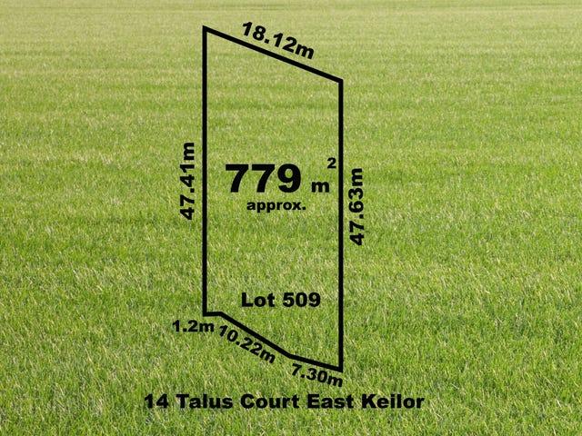 14 (Lot 509) Talus Court, Keilor East, Vic 3033