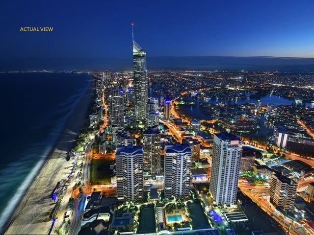 """6101 """"Peppers Soul"""" 8 The Esplanade, Surfers Paradise, Qld 4217"""